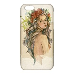 Beauty Of A woman In Watercolor Style iPhone 6/6S TPU Case