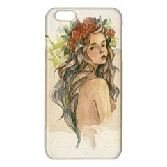 Beauty Of A woman In Watercolor Style iPhone 6 Plus/6S Plus TPU Case