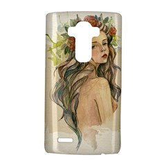 Beauty Of A woman In Watercolor Style LG G4 Hardshell Case