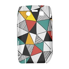 Colorful Geometric Triangles Pattern  Bold 9700