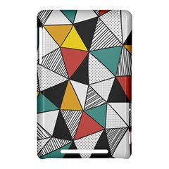 Colorful Geometric Triangles Pattern  Nexus 7 (2012)