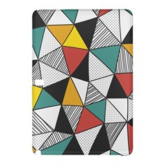 Colorful Geometric Triangles Pattern  Samsung Galaxy Tab Pro 12 2 Hardshell Case