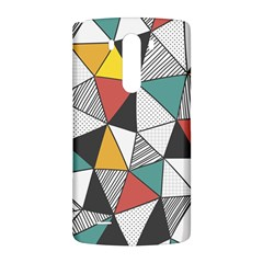 Colorful Geometric Triangles Pattern  LG G3 Back Case
