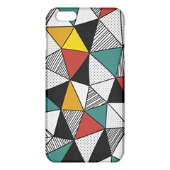 Colorful Geometric Triangles Pattern  Iphone 6 Plus/6s Plus Tpu Case