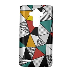 Colorful Geometric Triangles Pattern  Lg G4 Hardshell Case