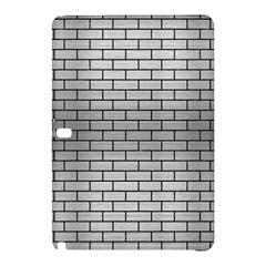 Brick1 Black Marble & Silver Brushed Metal (r) Samsung Galaxy Tab Pro 12 2 Hardshell Case