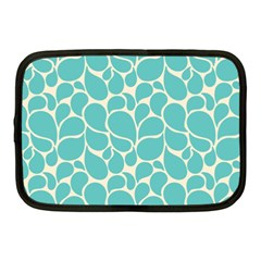 Blue Abstract Water Drops Pattern Netbook Case (Medium)