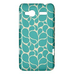 Blue Abstract Water Drops Pattern HTC Radar Hardshell Case