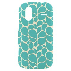 Blue Abstract Water Drops Pattern HTC Amaze 4G Hardshell Case
