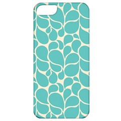 Blue Abstract Water Drops Pattern Apple iPhone 5 Classic Hardshell Case