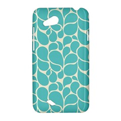 Blue Abstract Water Drops Pattern HTC Desire VC (T328D) Hardshell Case