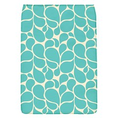 Blue Abstract Water Drops Pattern Flap Covers (S)