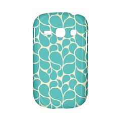 Blue Abstract Water Drops Pattern Samsung Galaxy S6810 Hardshell Case