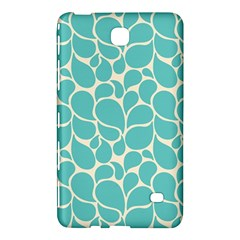 Blue Abstract Water Drops Pattern Samsung Galaxy Tab 4 (7 ) Hardshell Case
