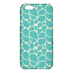 Blue Abstract Water Drops Pattern iPhone 6/6S TPU Case