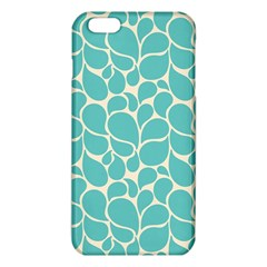 Blue Abstract Water Drops Pattern Iphone 6 Plus/6s Plus Tpu Case