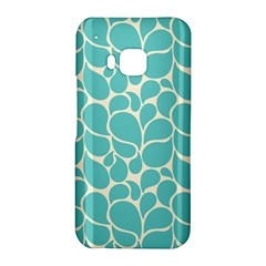 Blue Abstract Water Drops Pattern HTC One M9 Hardshell Case