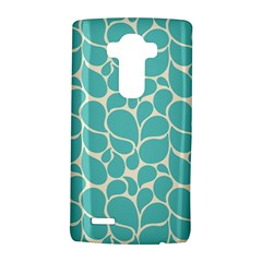 Blue Abstract Water Drops Pattern LG G4 Hardshell Case