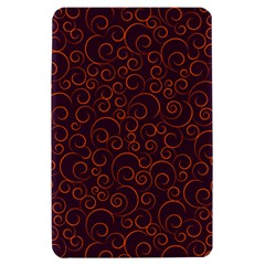 Seamless Orange Ornaments Pattern Kindle Fire (1st Gen) Hardshell Case