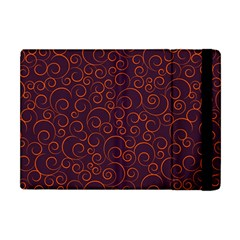 Seamless Orange Ornaments Pattern Apple iPad Mini Flip Case