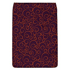 Seamless Orange Ornaments Pattern Flap Covers (L)