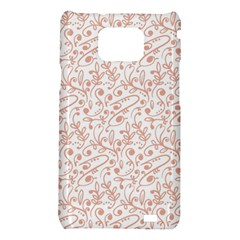 Hand Drawn Seamless Floral Ornamental Background Samsung Galaxy S2 i9100 Hardshell Case