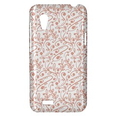 Hand Drawn Seamless Floral Ornamental Background HTC Desire VT (T328T) Hardshell Case