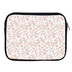 Hand Drawn Seamless Floral Ornamental Background Apple iPad 2/3/4 Zipper Cases