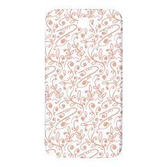 Hand Drawn Seamless Floral Ornamental Background Samsung Note 2 N7100 Hardshell Back Case