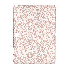 Hand Drawn Seamless Floral Ornamental Background Samsung Galaxy Note 10.1 (P600) Hardshell Case