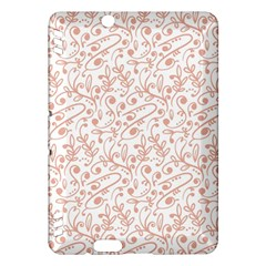 Hand Drawn Seamless Floral Ornamental Background Kindle Fire HDX Hardshell Case