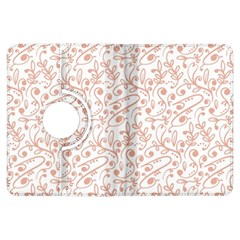 Hand Drawn Seamless Floral Ornamental Background Kindle Fire HDX Flip 360 Case