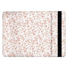 Hand Drawn Seamless Floral Ornamental Background Samsung Galaxy Tab Pro 12.2  Flip Case