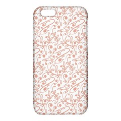 Hand Drawn Seamless Floral Ornamental Background iPhone 6/6S TPU Case