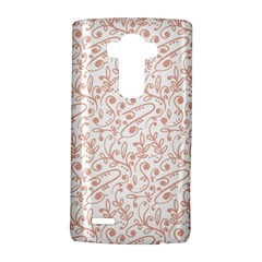 Hand Drawn Seamless Floral Ornamental Background LG G4 Hardshell Case