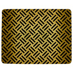 Woven2 Black Marble & Gold Brushed Metal (r) Jigsaw Puzzle Photo Stand (rectangular)