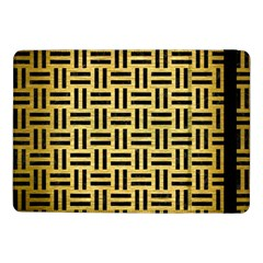 Woven1 Black Marble & Gold Brushed Metal (r) Samsung Galaxy Tab Pro 10 1  Flip Case