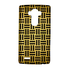 Woven1 Black Marble & Gold Brushed Metal (r) Lg G4 Hardshell Case