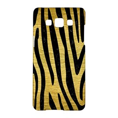 Skin4 Black Marble & Gold Brushed Metal Samsung Galaxy A5 Hardshell Case
