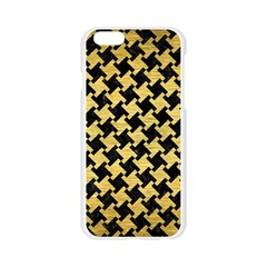 HTH2 BK MARBLE GOLD Apple Seamless iPhone 6/6S Case (Transparent)