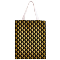 CIR3 BK MARBLE GOLD (R) Classic Light Tote Bag