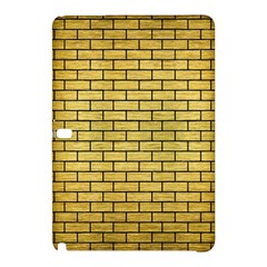 Brick1 Black Marble & Gold Brushed Metal (r) Samsung Galaxy Tab Pro 12 2 Hardshell Case