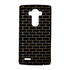Brick1 Black Marble & Gold Brushed Metal Lg G4 Hardshell Case
