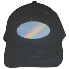 Colorful Natural Rainbow Black Cap