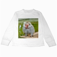 Grey Monkey  Kids Long Sleeve T Shirts
