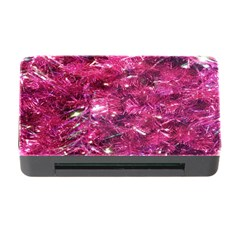 Festive Hot Pink Glitter Merry Christmas Tree  Memory Card Reader with CF