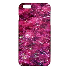 Festive Hot Pink Glitter Merry Christmas Tree  iPhone 6 Plus/6S Plus TPU Case