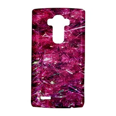 Festive Hot Pink Glitter Merry Christmas Tree  LG G4 Hardshell Case