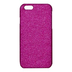 Metallic Pink Glitter Texture iPhone 6/6S TPU Case