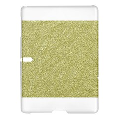 Festive White Gold Glitter Texture Samsung Galaxy Tab S (10 5 ) Hardshell Case